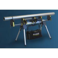 Трубный складной верстак Pipe Bench 170 в полном комплекте с 4 опорами для резки 7010505