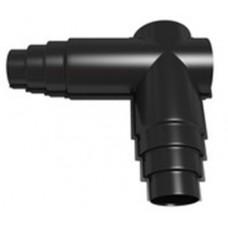 Изолирующий угловой элемент (ППУ теплоизоляция, герметик и элементы крепления идут в комплекте) FV-W125-200/90HS-R