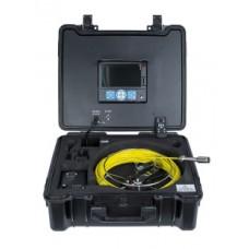 ТВ камера для канализации 3199F-МС-30 со счетчиком расстояния, длина 30 м