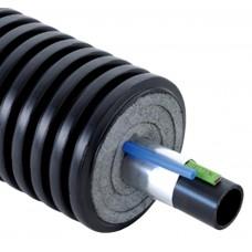 Труба Uponor (Ecoflex) с двумя кабелями Supra Plus 110х10,0/200 1035950