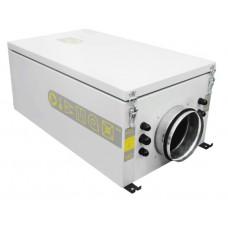 Компактная моноблочная (канальная) приточная установка Колибри 500 EC с автоматикой Zentec