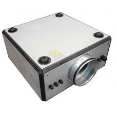 Компактная моноблочная (канальная) приточная установка Колибри-1000 EC с автоматикой Zentec