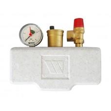 Группа безопасности в теплоизоляции Watts KSG 30/20M-ISO 3 бар (до 100 кВт) 10005204 (02.70.136)